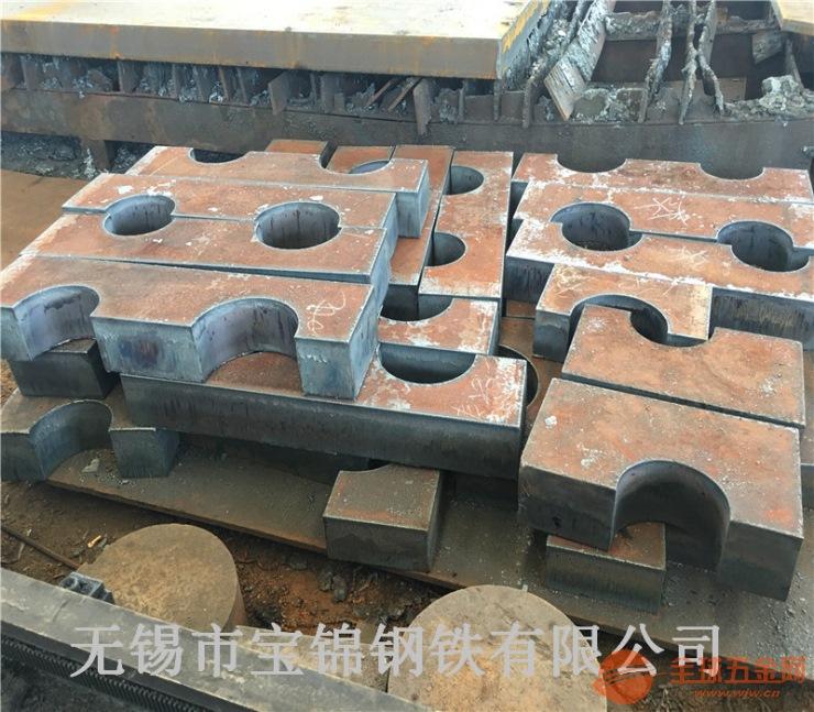 济宁q345r容器板钢板切割