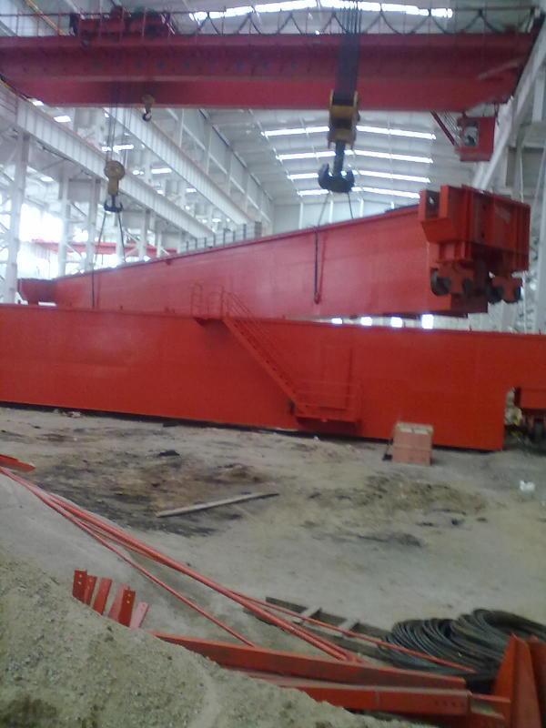 LDA型50吨24.5米电动单梁起重机厂家