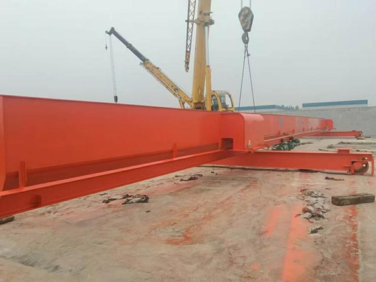 6噸QD橋式起重機輪胎吊√75噸天車