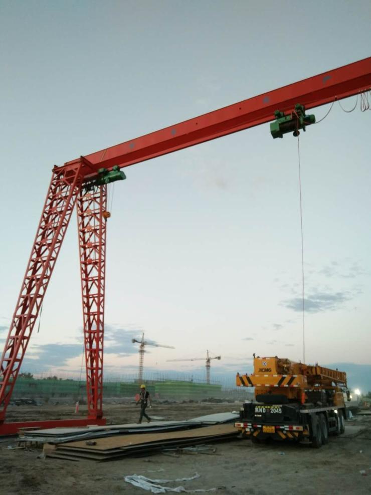 箱型式32吨龙门吊在亚博能安全取款吗