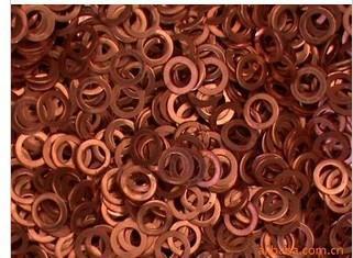 黑龍江牡丹江穆棱市紫銅墊片規格,紫銅墊片作用