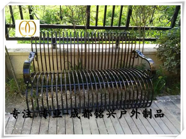 雅安河南公园椅厂家雅安休闲椅子图片