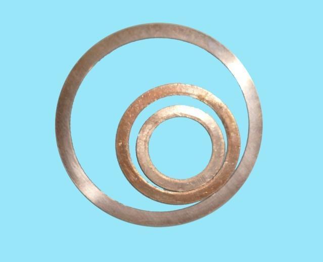 内蒙古呼和浩特武川县紫铜垫片厂家,紫铜垫片怎样生产