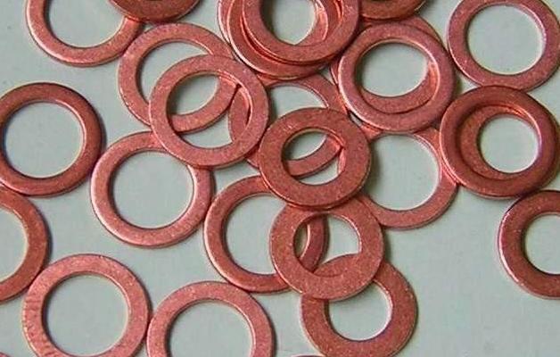 黑龙江伊春五营紫铜垫片压力,紫铜垫片使用温度