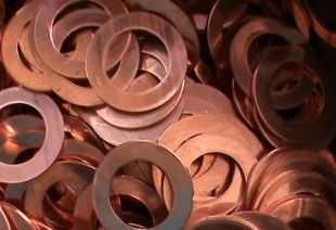 河北石家庄行唐县紫铜垫片生产厂家,紫铜垫片厂商