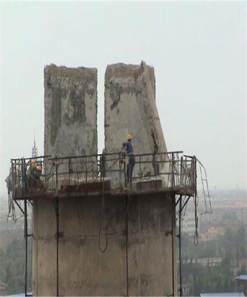 蚌埠砖烟囱拆除