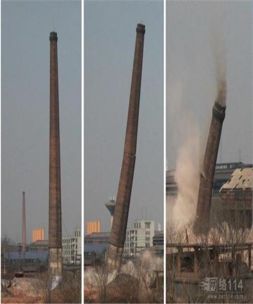 羅湖區磚煙囪人工拆除公司施工方案