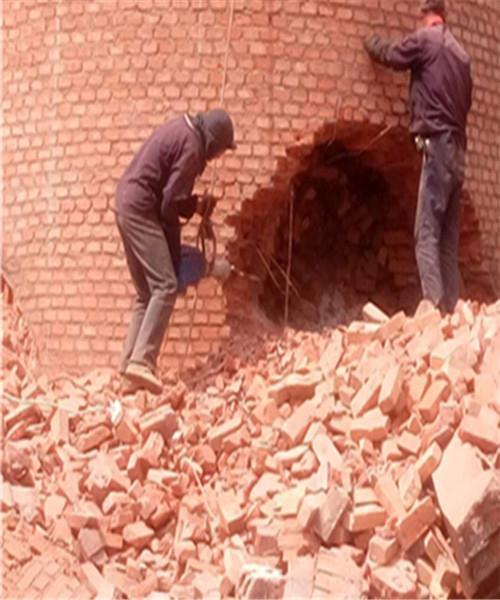 东阿县砖烟囱人工拆除公司施工方案