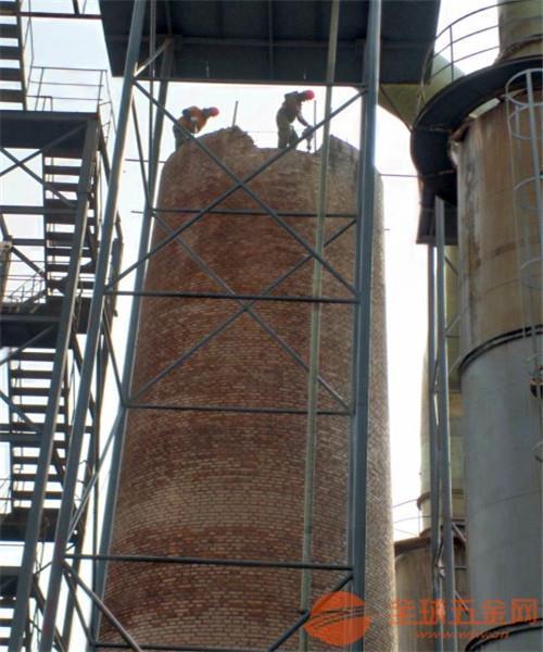 花都磚煙囪人工拆除公司施工方案