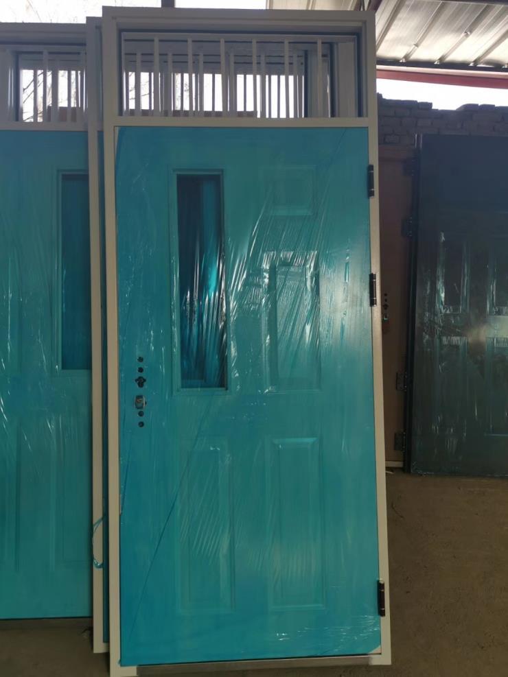 内蒙古通辽学校防盗门厂家直销;钢制超大非标门定做价格