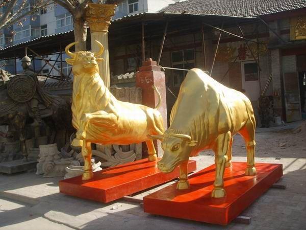 铜牛雕塑 加工铜牛 铜牛工艺品