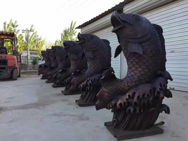 风水动物雕塑 动物铜雕生产厂家 动物雕塑