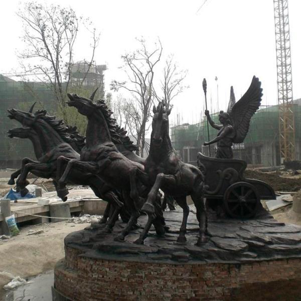 铜马加工厂 大型铜马 铜马雕塑