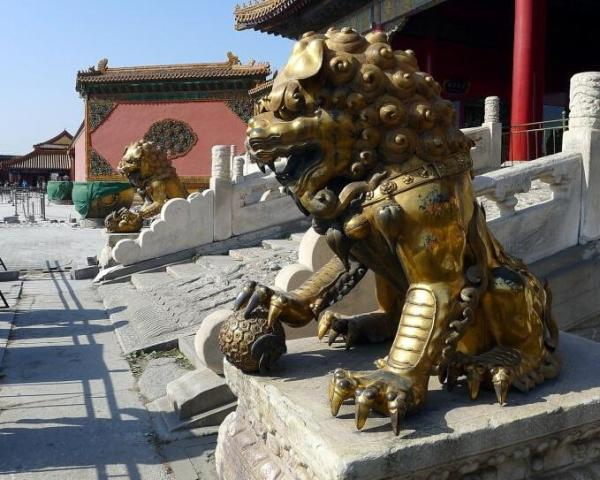 铜狮子雕塑 大型铜狮子 铜狮子工艺品