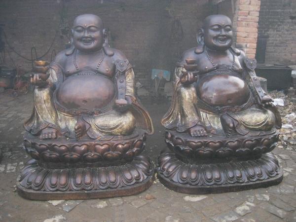 铸造弥勒佛雕塑 开光弥勒佛雕塑 弥勒佛雕塑摆件