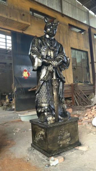 黄铜十二生肖铜像 广场十二生肖铜像