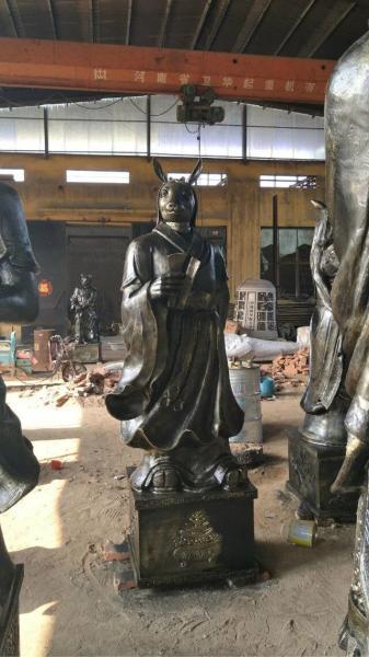 加工十二生肖铜雕 大型十二生肖铜雕