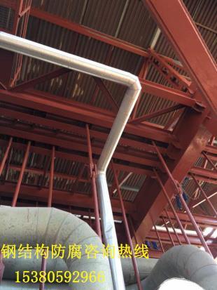 锅炉钢架刷油漆防腐