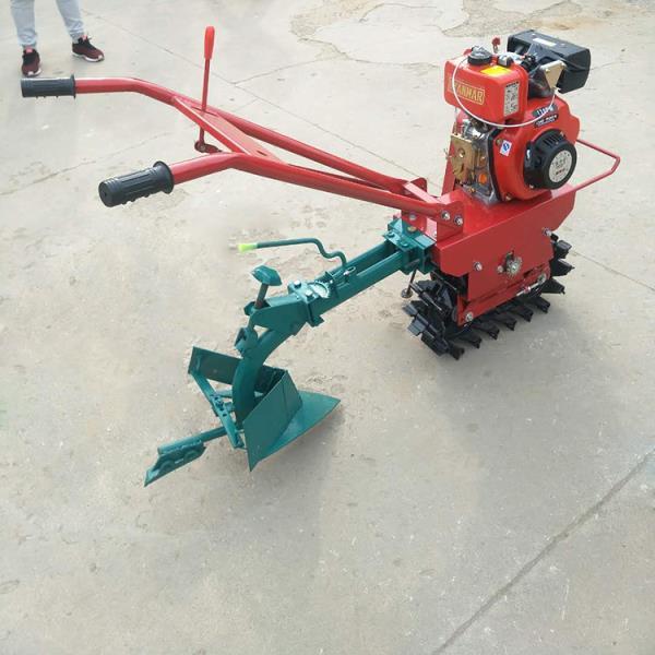 輕巧靈活的履帶微耕機實用性強