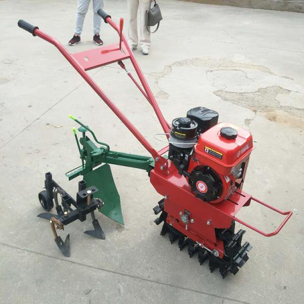 柴油履帶式微耕機工作視頻