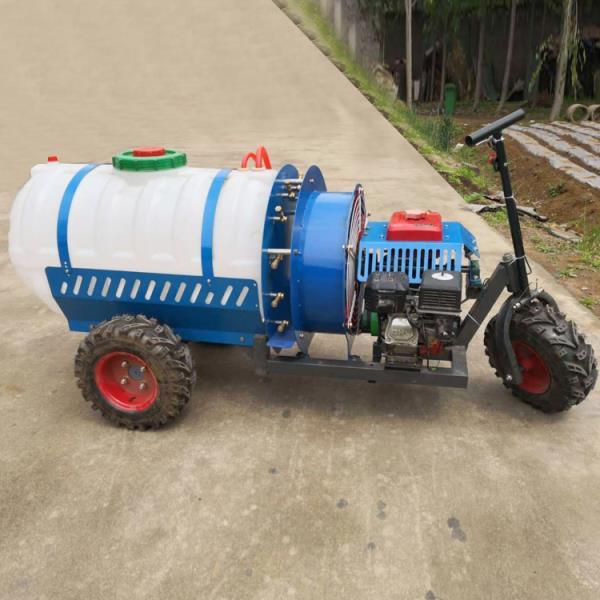 农用汽油打药机工作原理