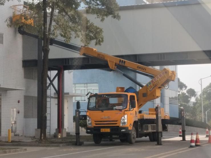 佛山20米高空作业车租赁 高空车出租公司
