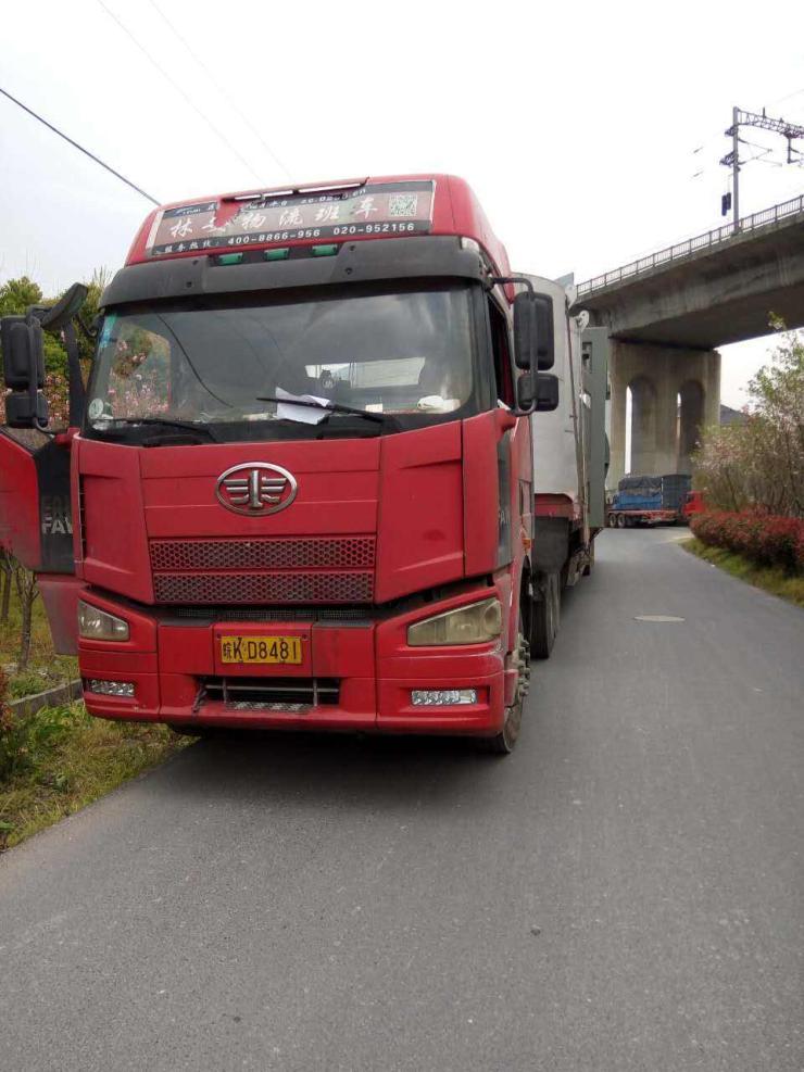 湛江吳川到深圳17米5平板拖掛車(往返)出租