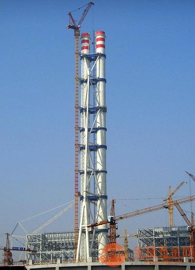 鄂州钢烟囱新建
