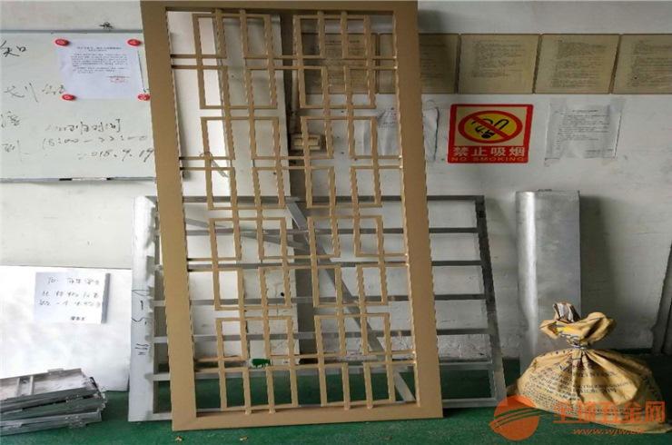 方管花格子窗花 烧焊铝合金窗花 雕刻板铝窗花