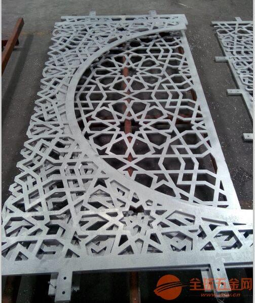 铝合金外墙双曲铝单板 幕墙造型铝单板 雕花铝单板