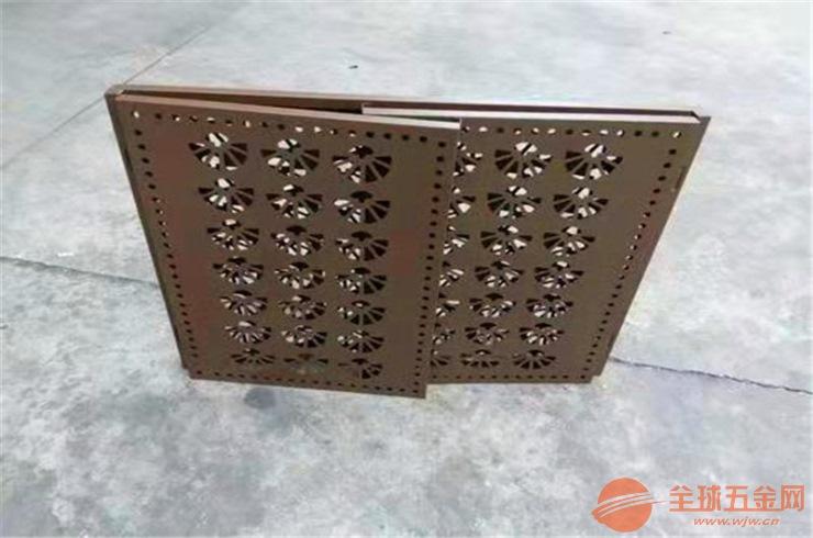 广东省木纹色铝花格计新颖时尚-生态环保