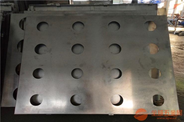 红色正方形冲孔铝单板 白色圆孔冲孔铝单板