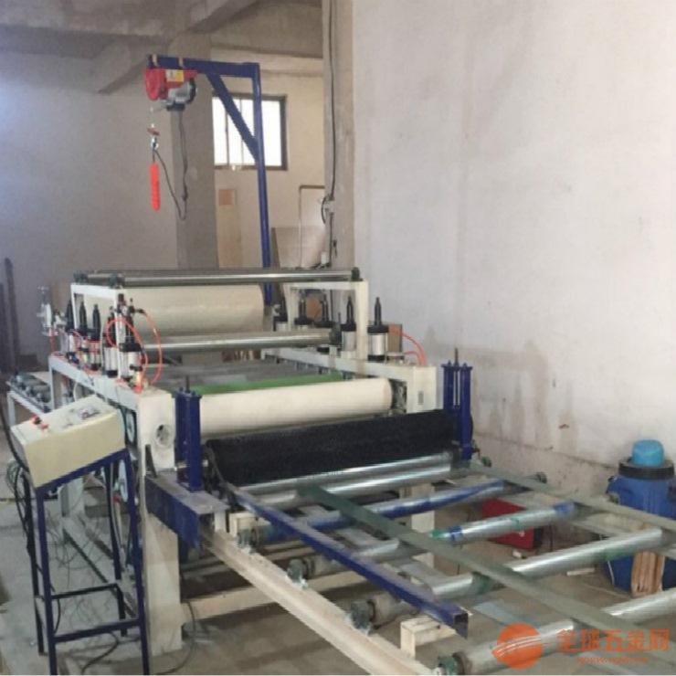 装饰纸贴面机 木纹纸覆膜机贴纸机PVC平贴覆膜机