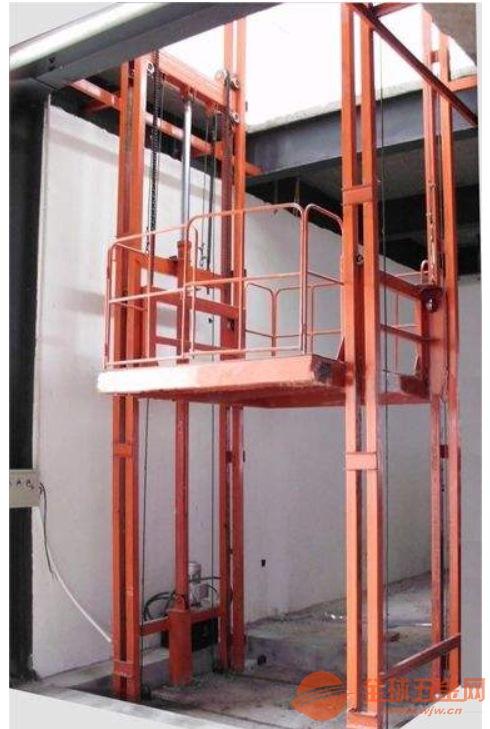 林州1吨小型导轨式升降货梯价格