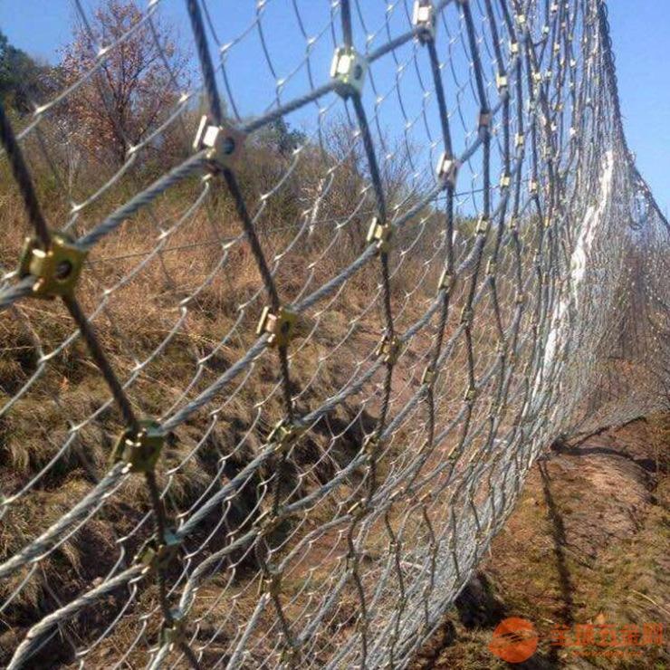 专业生产菱形被动防护网制造厂家