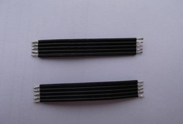 供应3132硅胶高温导线,硅胶高温线厂家,裁切上锡导线