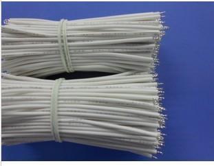 供應1007 26awg電子導線,鍍錫銅芯導線,兩端焊錫導線