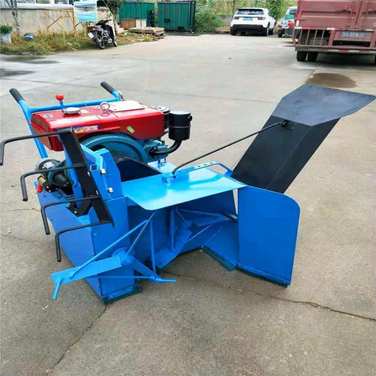柴油机拌料机 自走式拌料机 食用菌香菇平菇菌料翻堆机