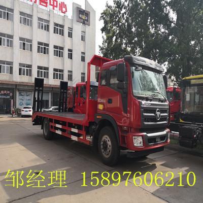 国6福田瑞沃15吨挖机拖板车报价