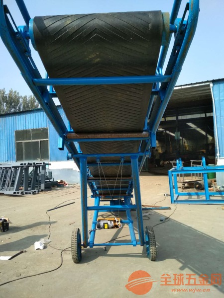 大型矿山皮带输送机 u型槽体带式输送机价格
