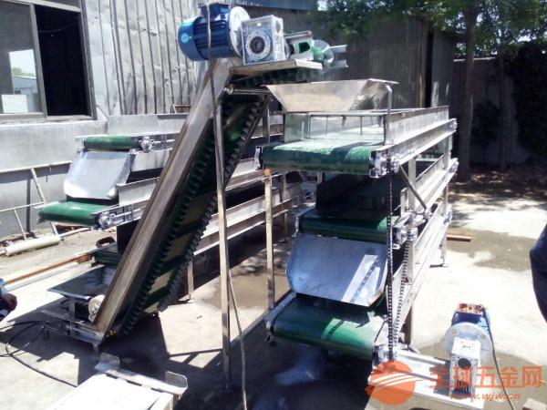 不锈钢带式输送机价格行走式食品包装输送机