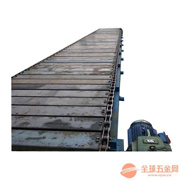 加厚铁板式运输机环保直线型链板输送机分类制造厂家