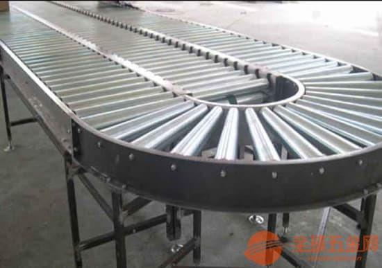 动力辊筒输送机专业生产倾斜输送滚筒