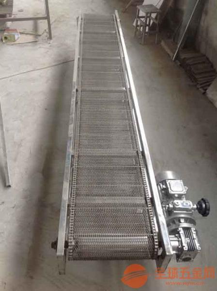 金属网带输送机厂家推荐提升爬坡输送