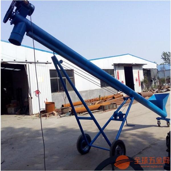 自制螺旋加料机大提升量进口螺旋提升机厂