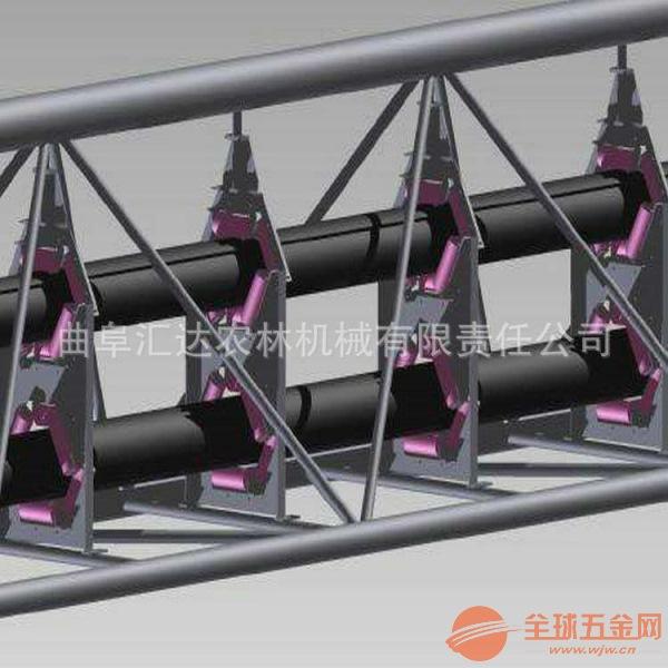 圆管带式输送机输送各种粉状物料知名