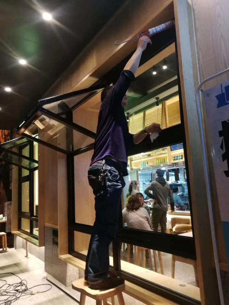 桂林折叠窗 上下折叠窗就找金玛龙