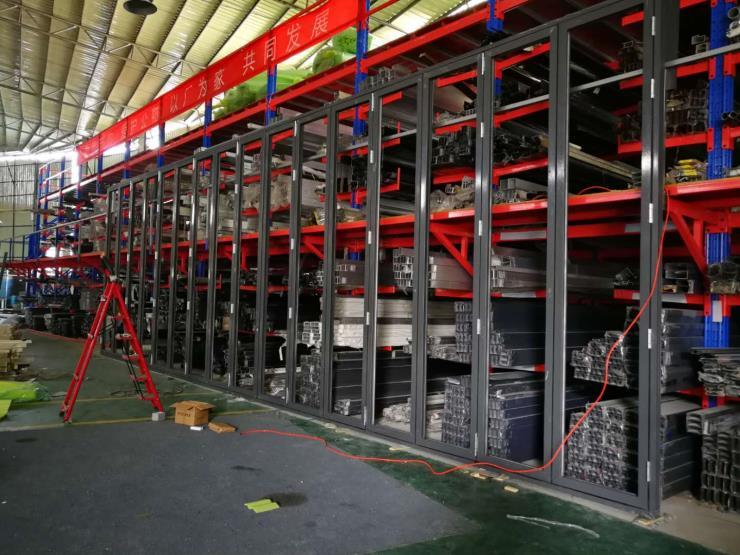 超高折叠门厂家 超高重型大折叠门