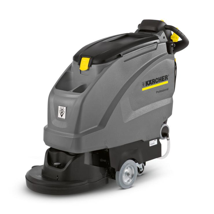 生产车间地面清洗卡赫B40手推式洗地机