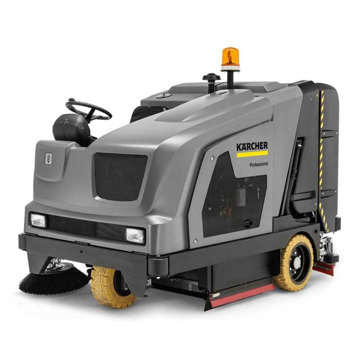 凯驰手推式洗地吸干机清洗机